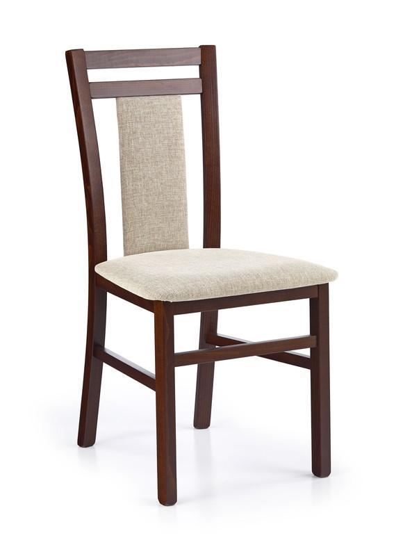 HUBERT8 stolička tmavo orech / tap: Vila 2