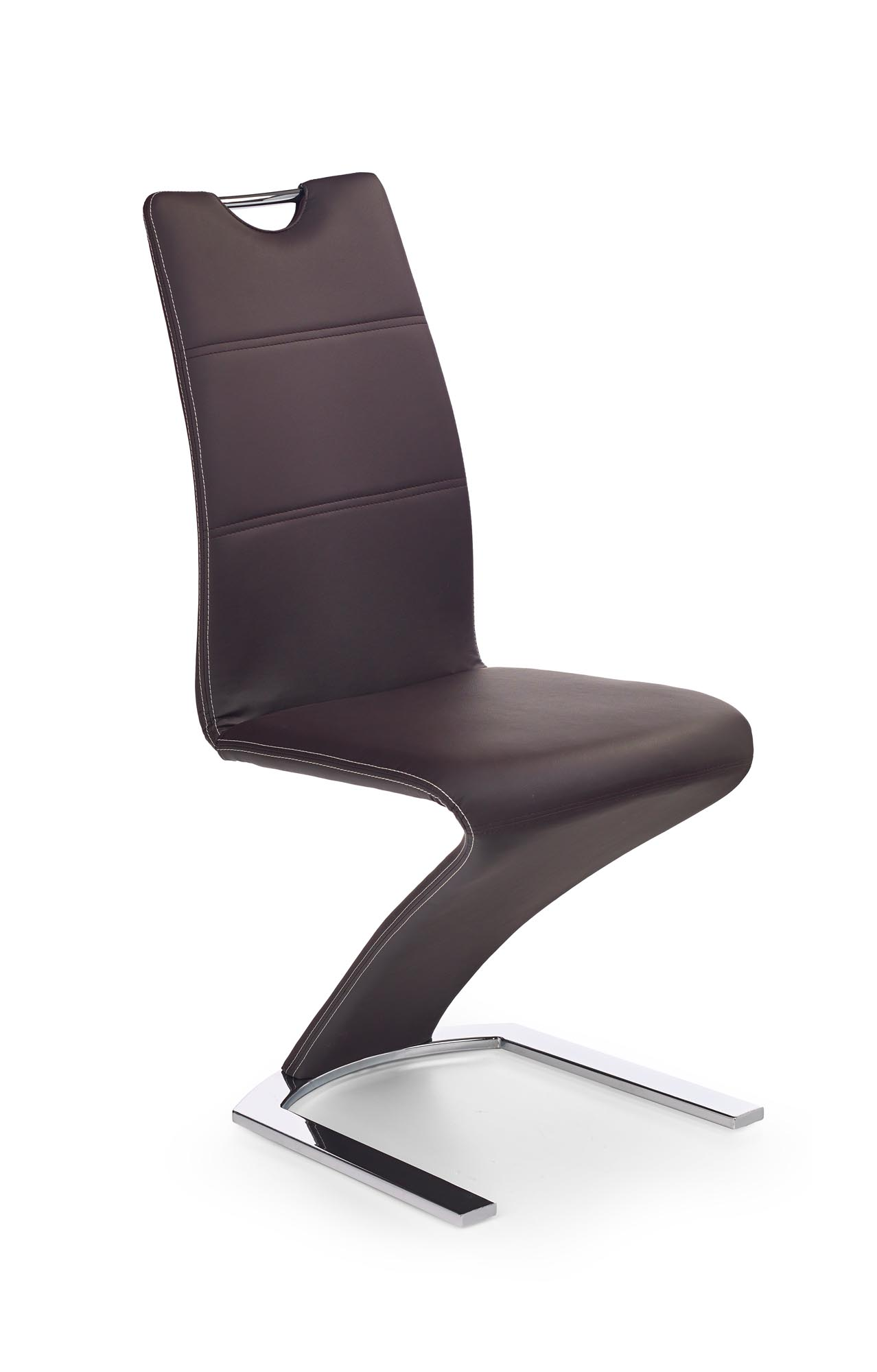 K188 stolička hnedá