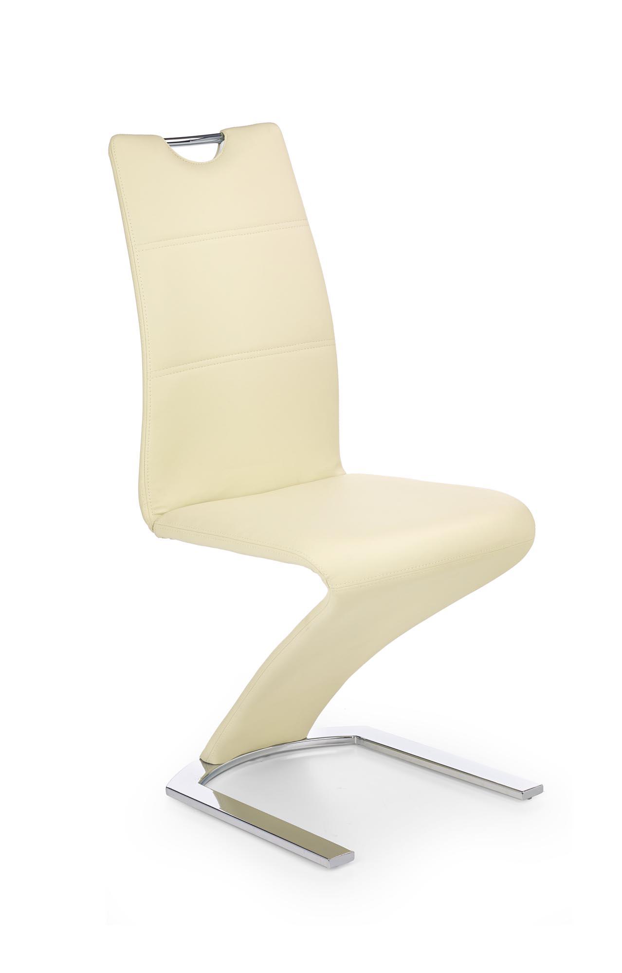 K188 stolička vanilková