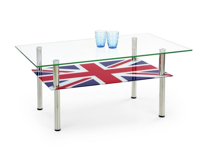 CLEOPATRA konferenčný stolík bezfarebný/UK