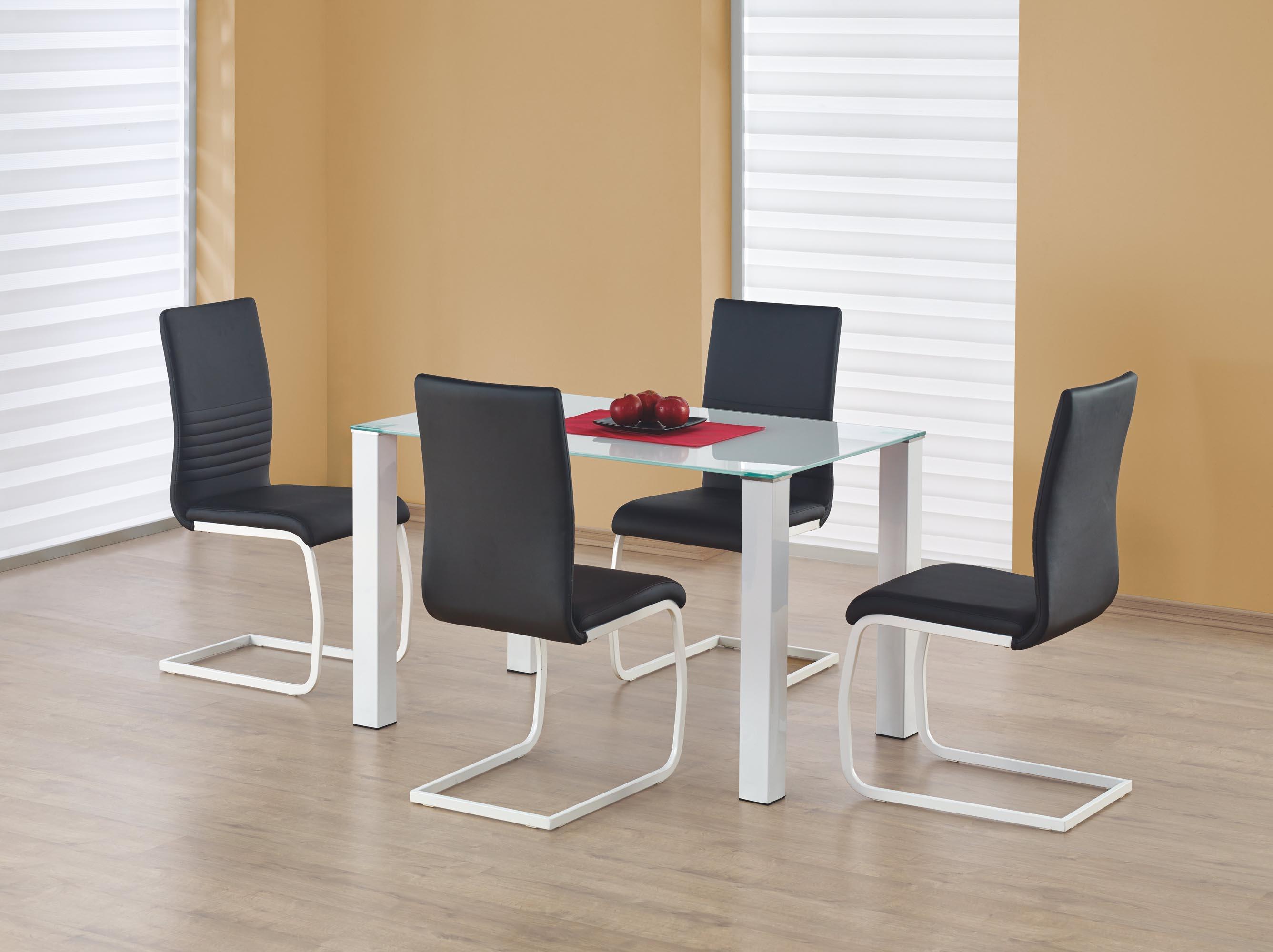 MERLOT obdľžnik stôl biely