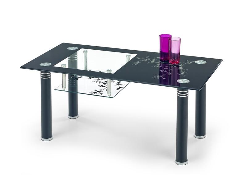 MONROE konferenčný stolík čierny
