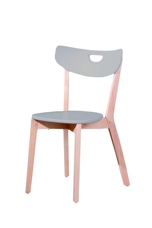 PEPPI stolička šedá