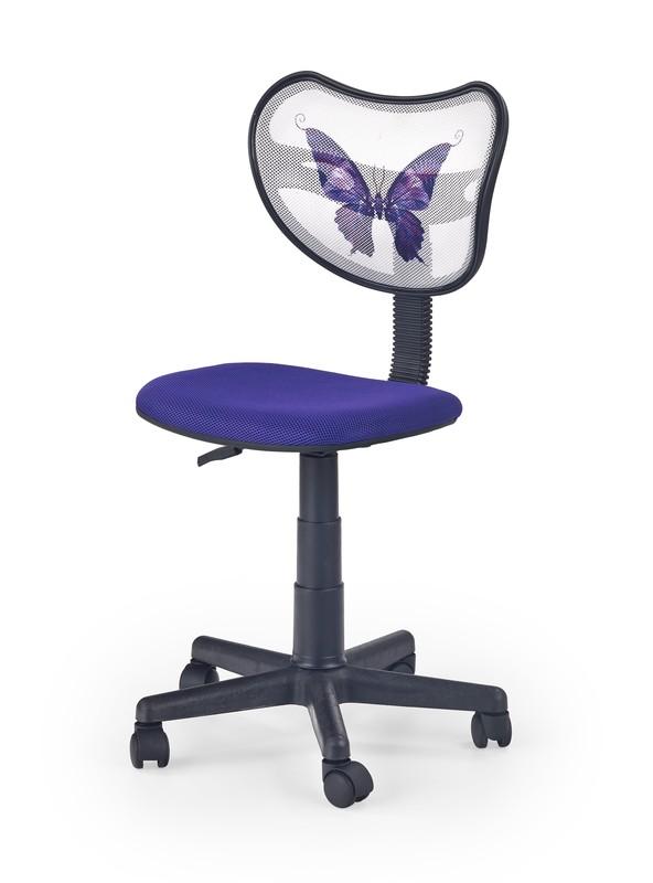 WING detská stolička fialová