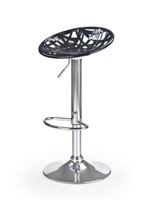 H56 barová stolička čierna