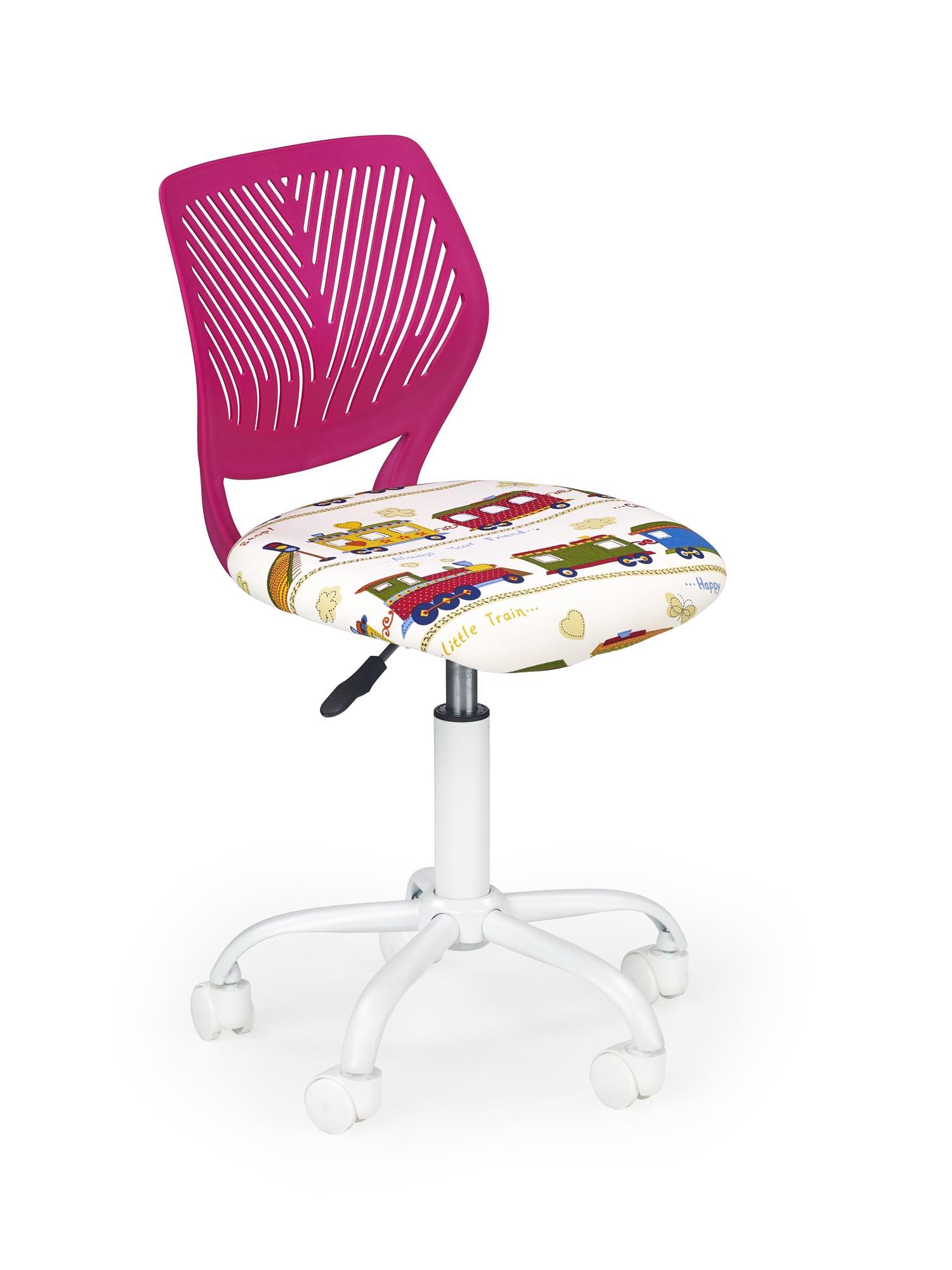 BALI detská stolička ružová