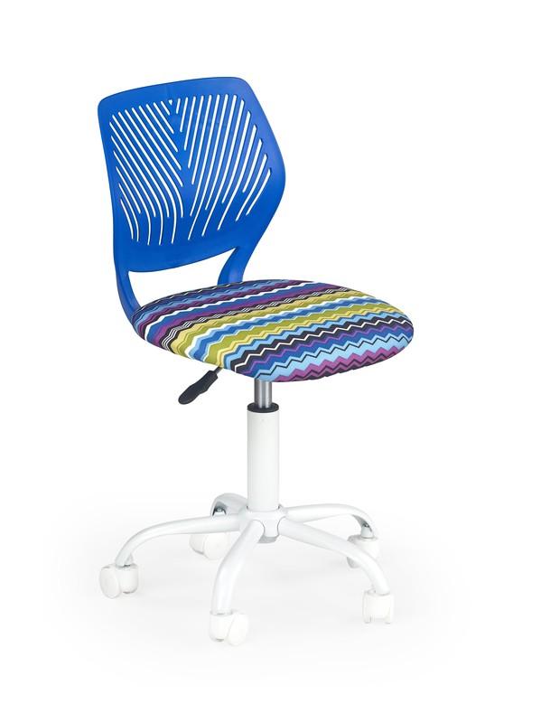 BALI detská stolička modrá