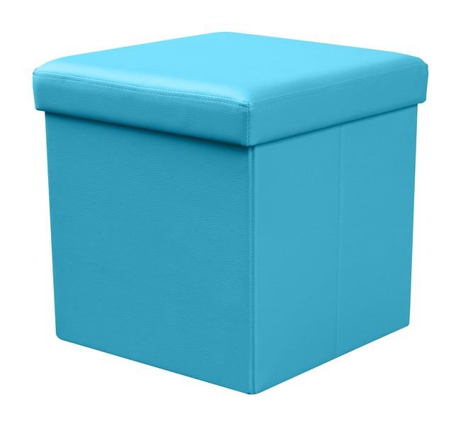 MOLY taburetka modrá