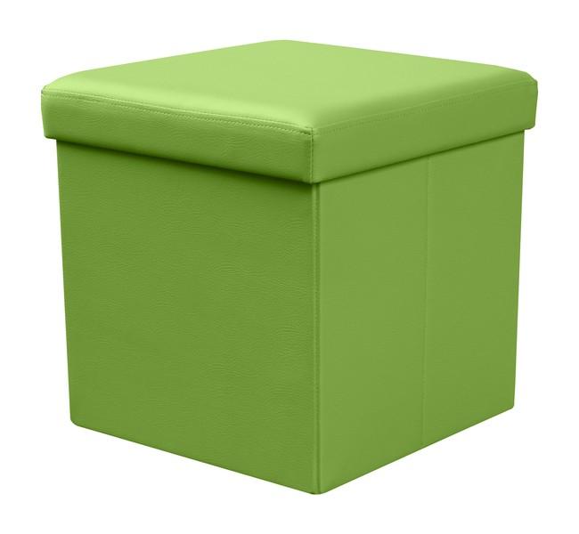 Skladacia MOLY taburetka zelená