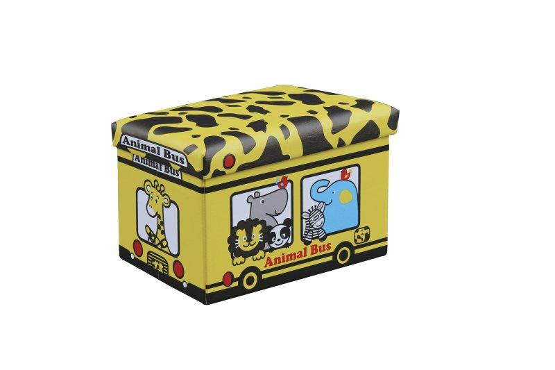 KIRI taburetka žltá - žirafa