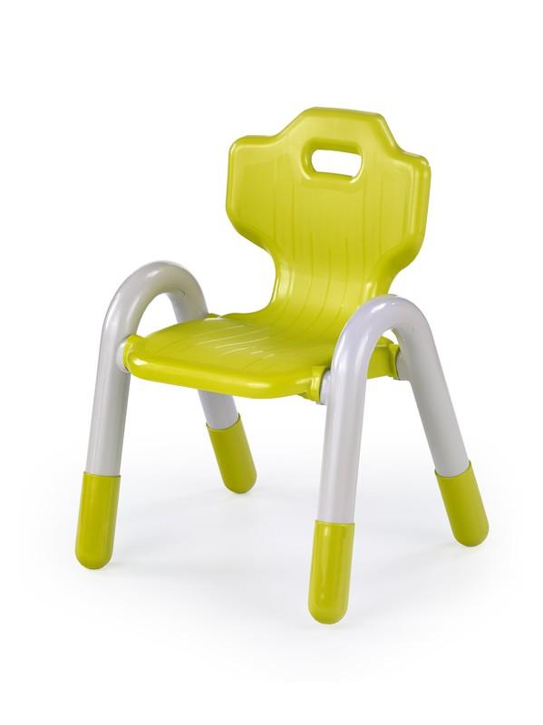 BAMBI stolička pre deti zelená