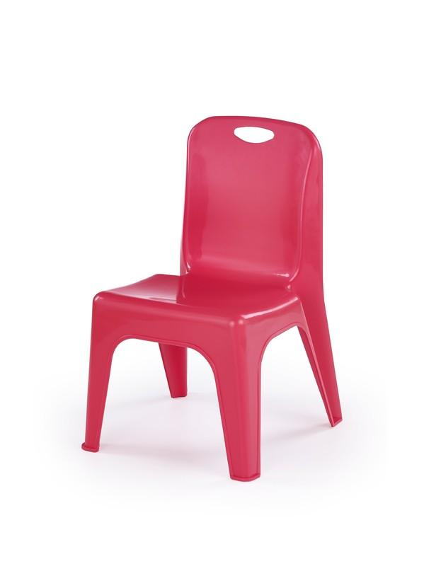 DUMBO stolička pre deti červená