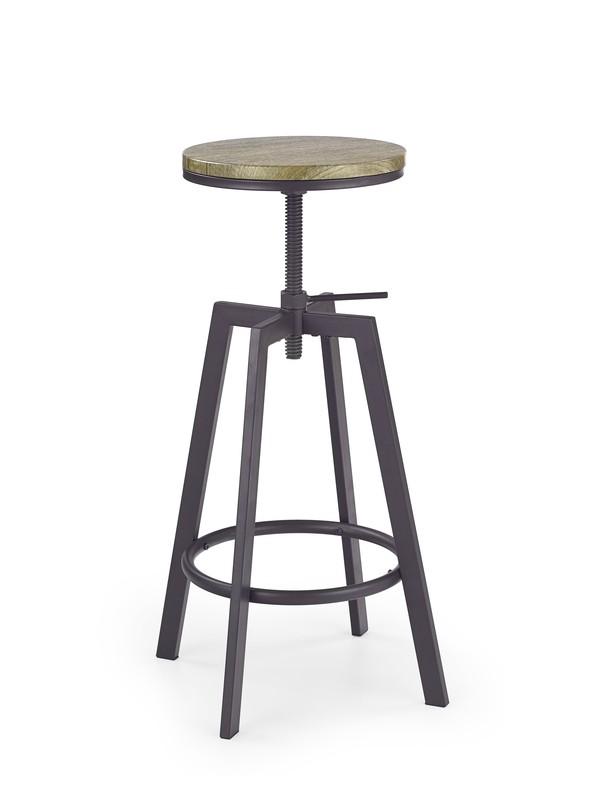 H64 barová stolička old vasion / coffe