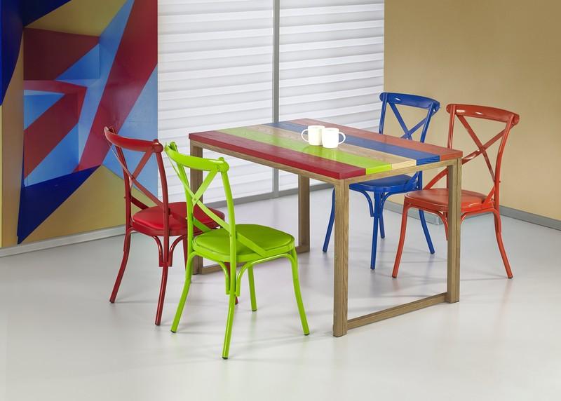 GARMIN stôl viacfarebný / dub medový