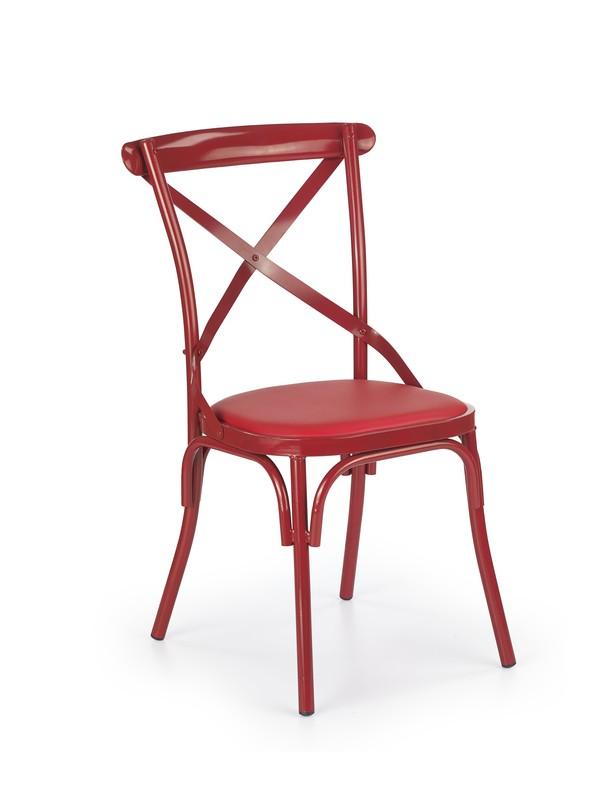 K216 stolička červená