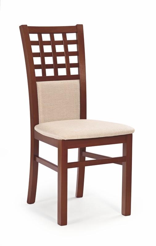 GERARD3 stolička čerešňa ant. II / tap: MESH 1