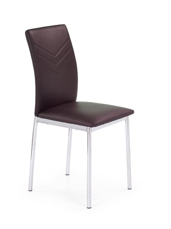 K137 stolička hnedá