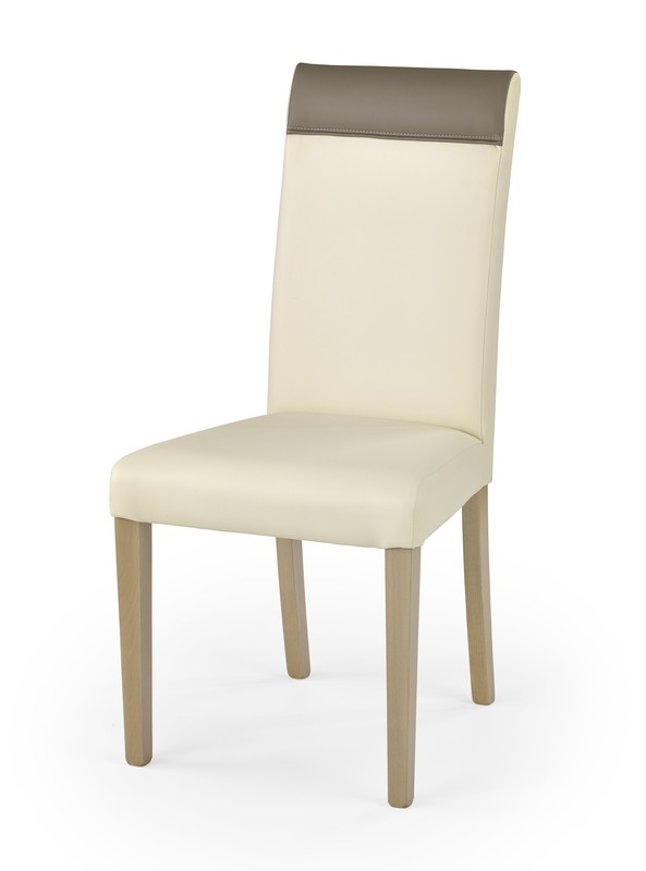 NORBERT stolička dub sonoma / tap: krém