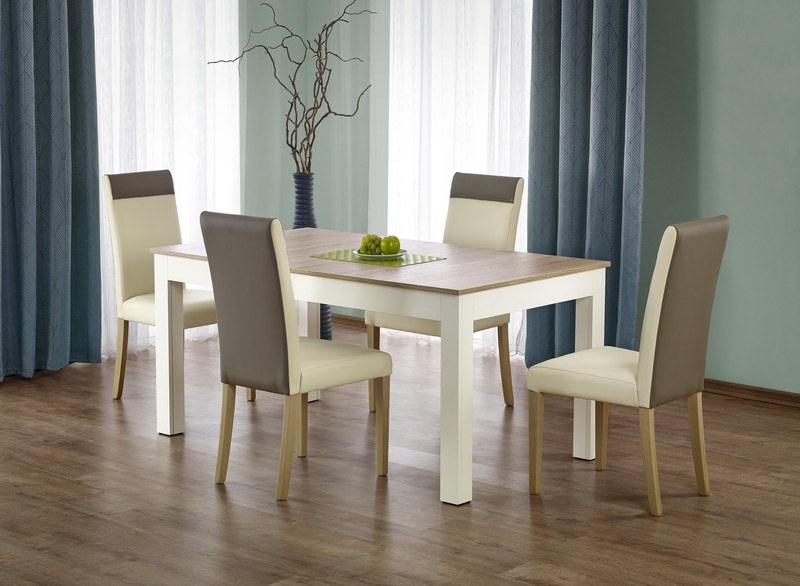 SEWERYN 160/300 cm stôl farba dub sonoma / biely