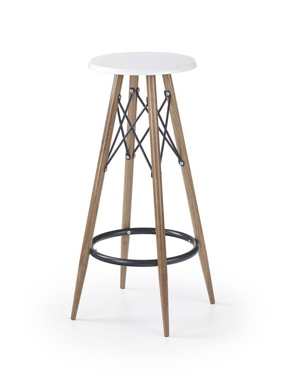 H68 barová stolička biela