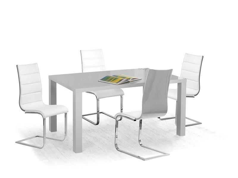 RONALD stôl šedý 120/80