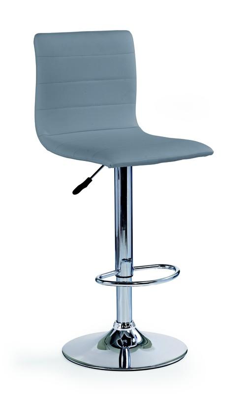 H21 barová stolička šedá