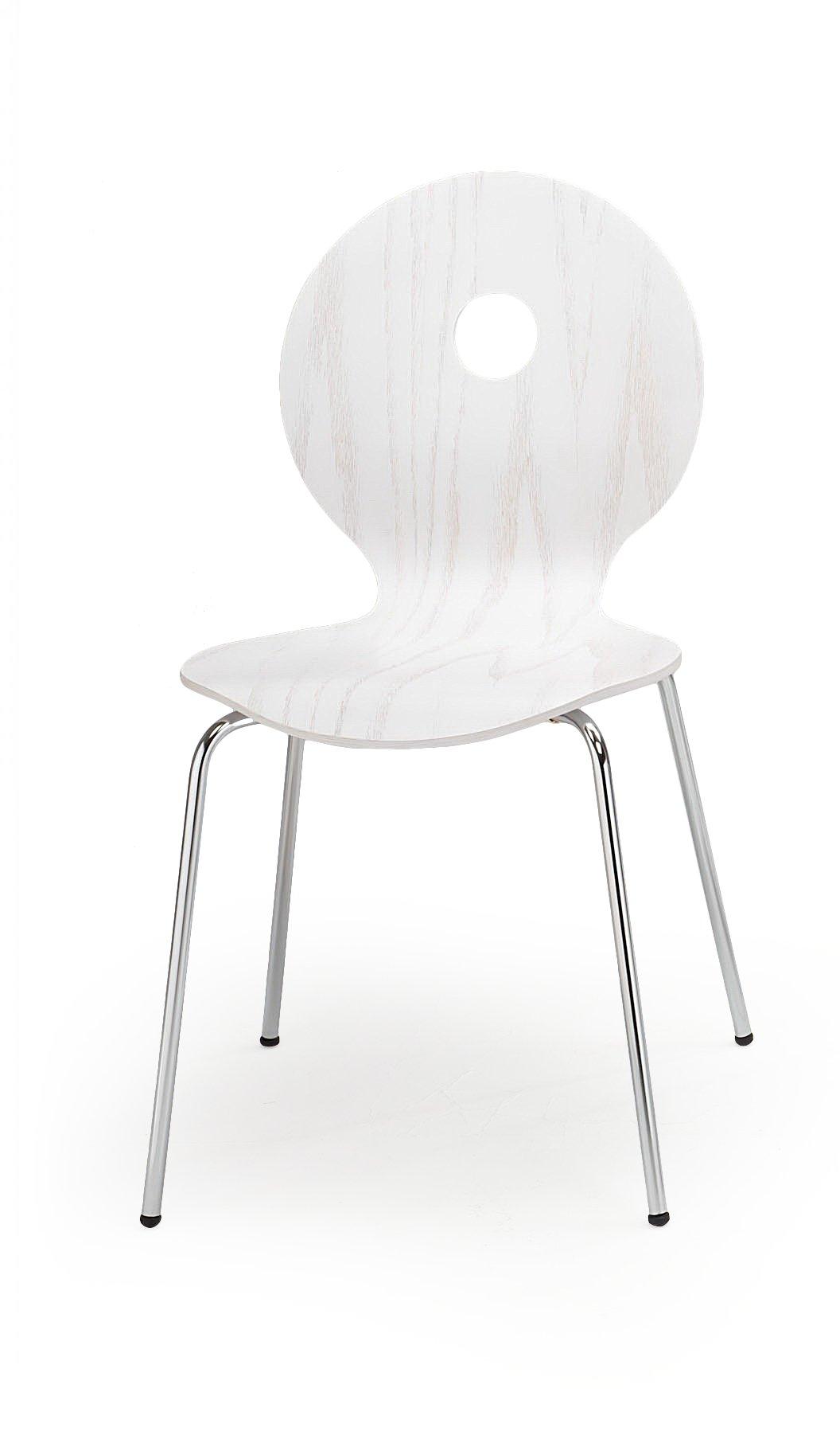 K233 stolička biela