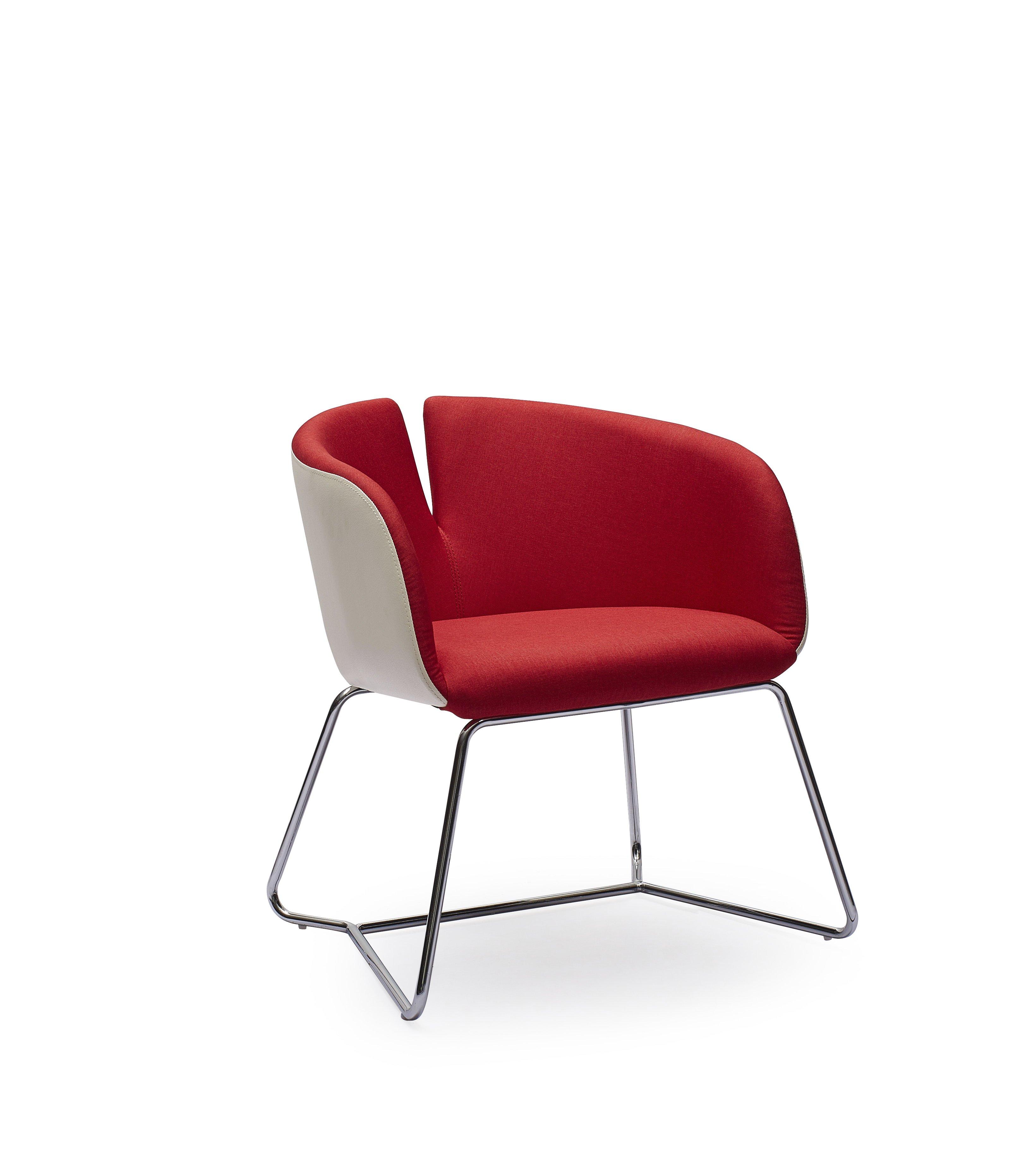 PIVOT stolička červená