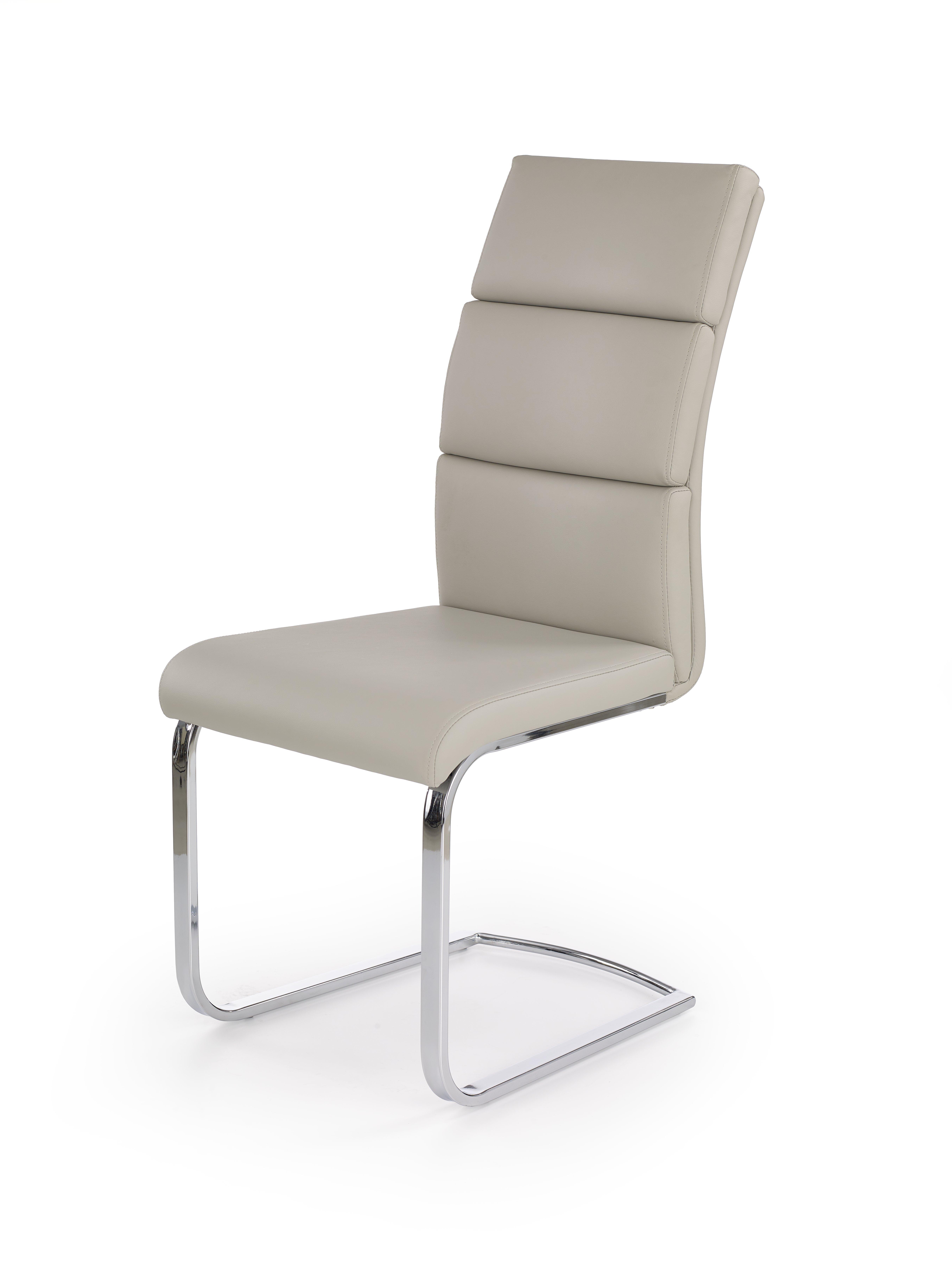 K230 stolička svetlo šedá