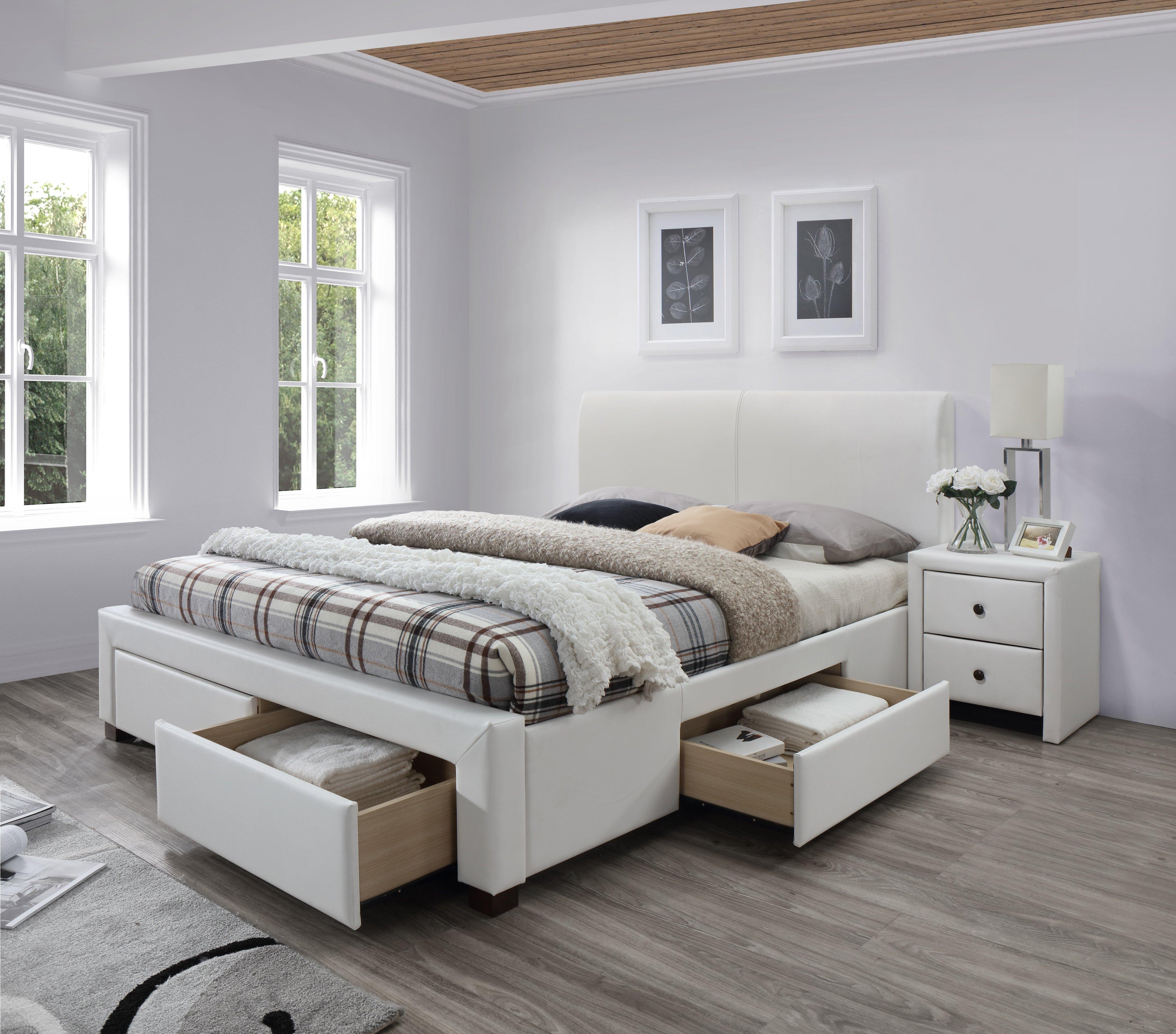 MODENA 2 postel biela