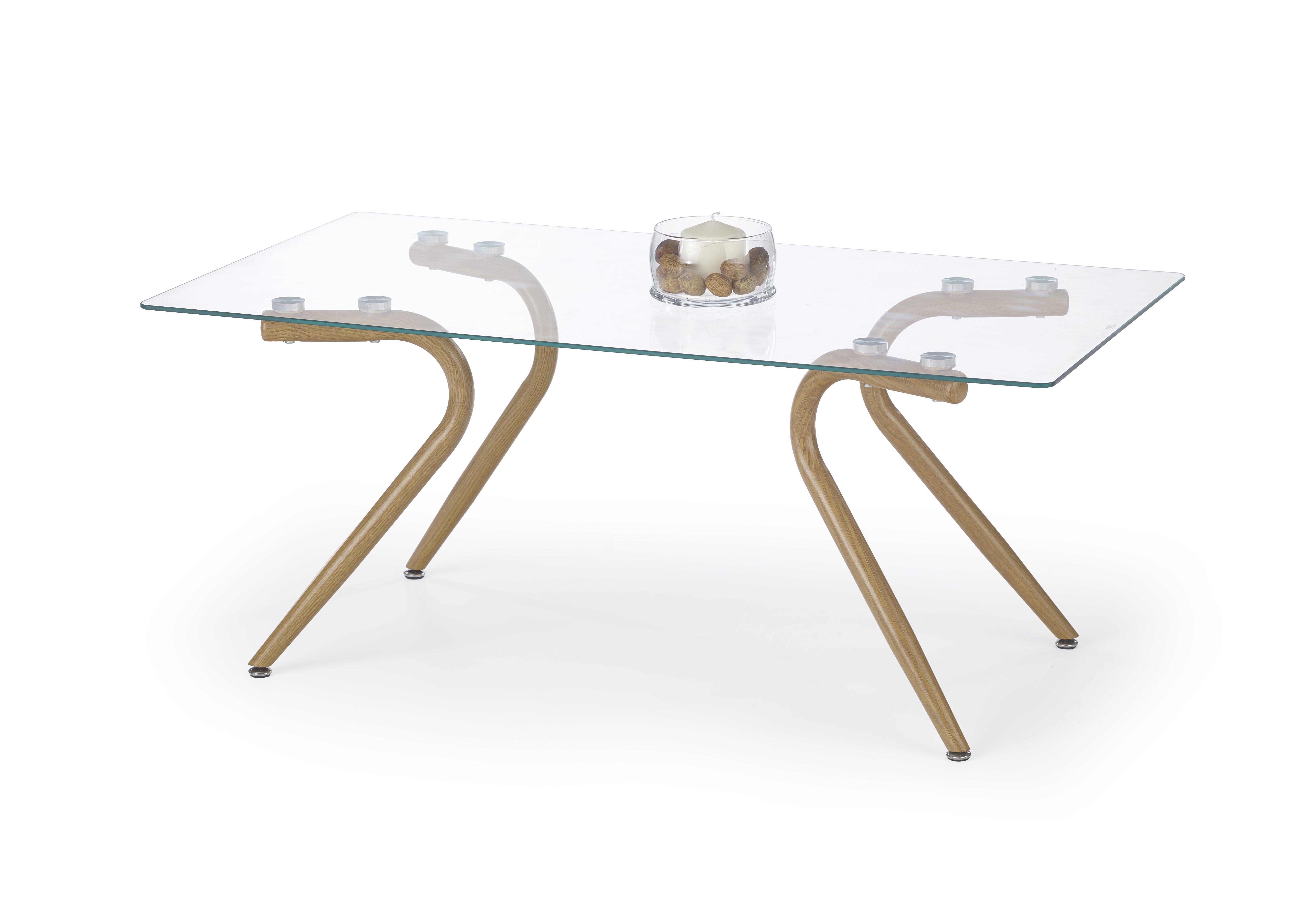 PETRA konferenčný stolík dub medový