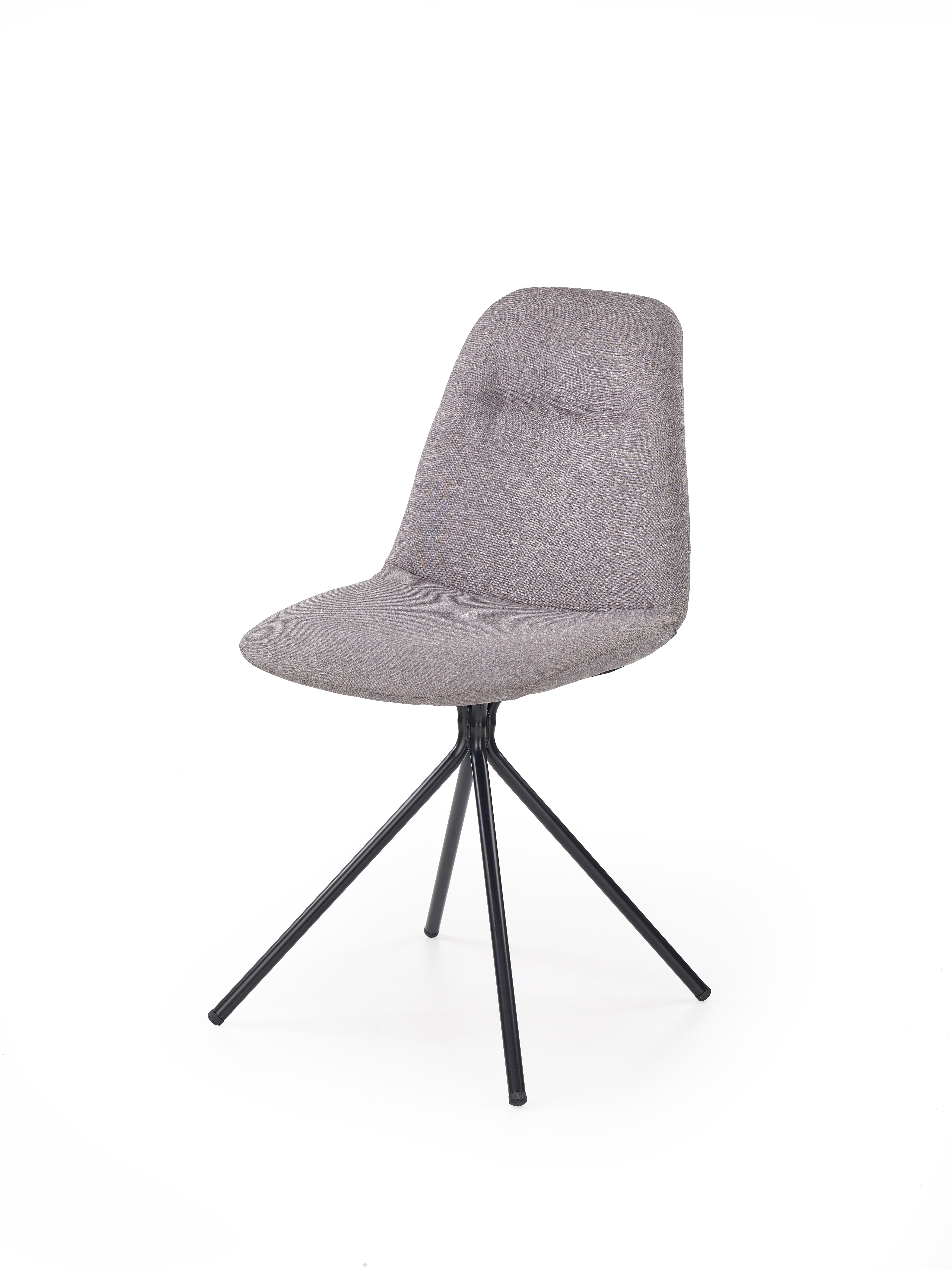 K240 stolička šedá