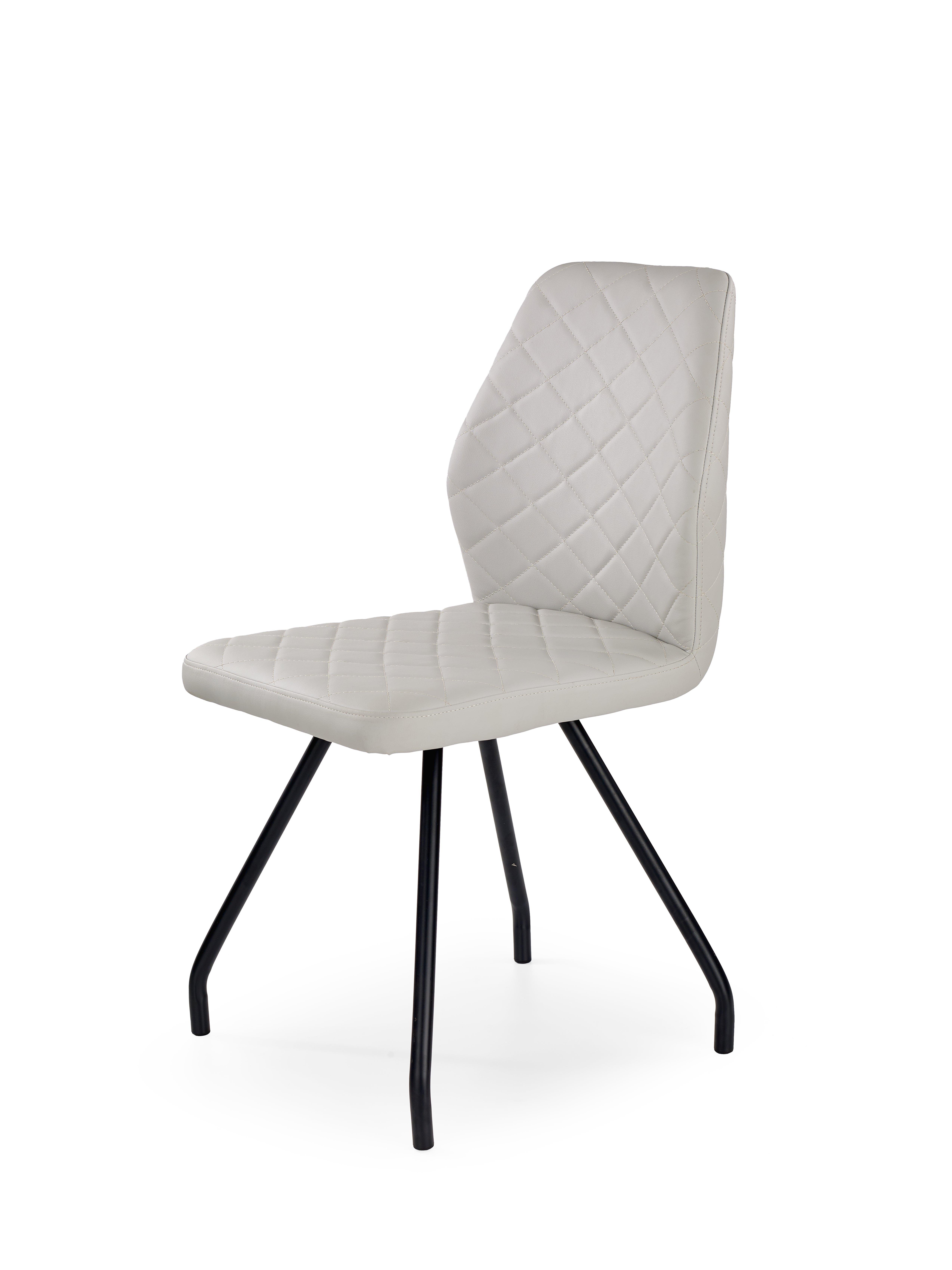 K242 stolička šedá