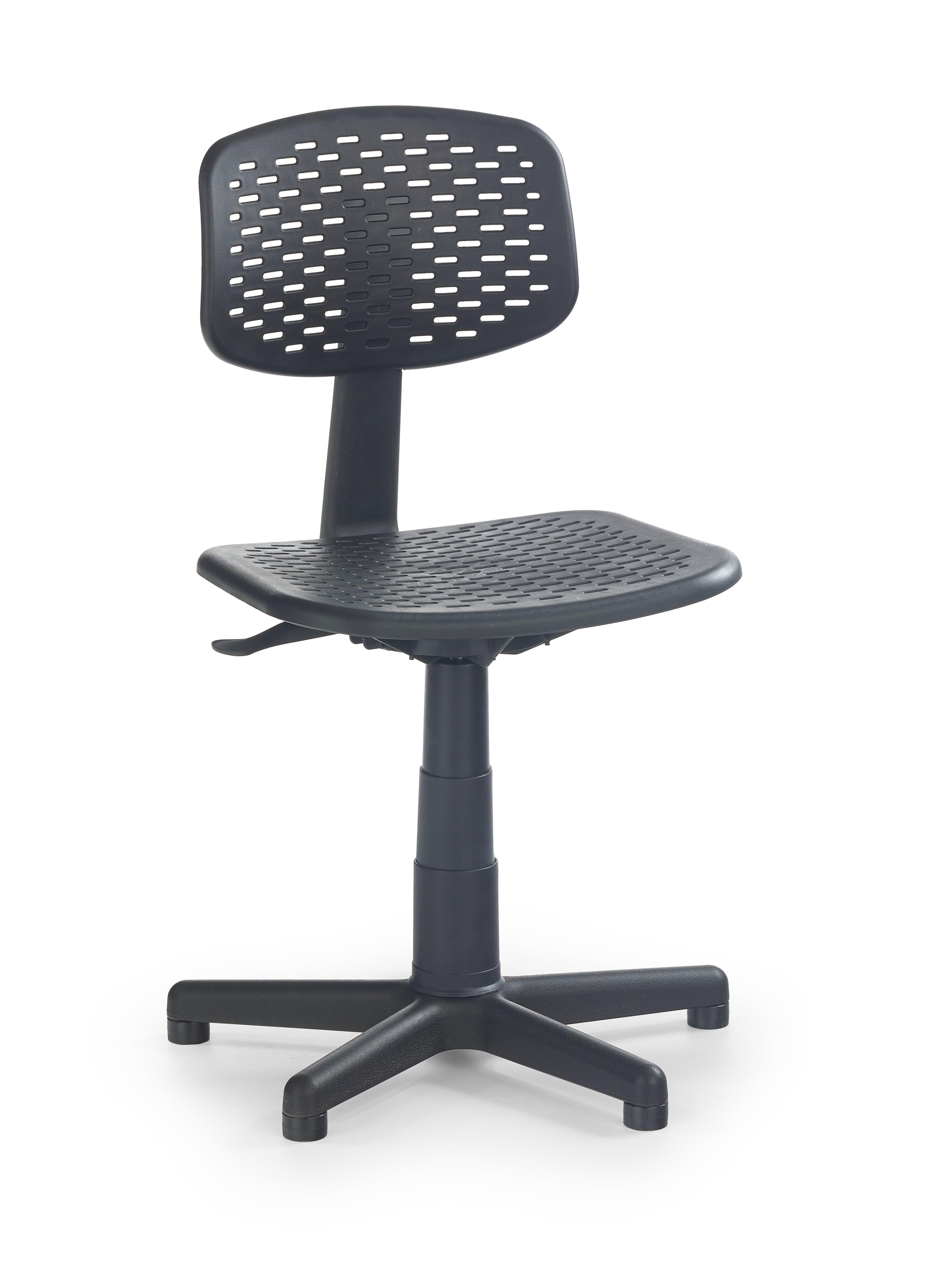 LOCO detská stolička čierna