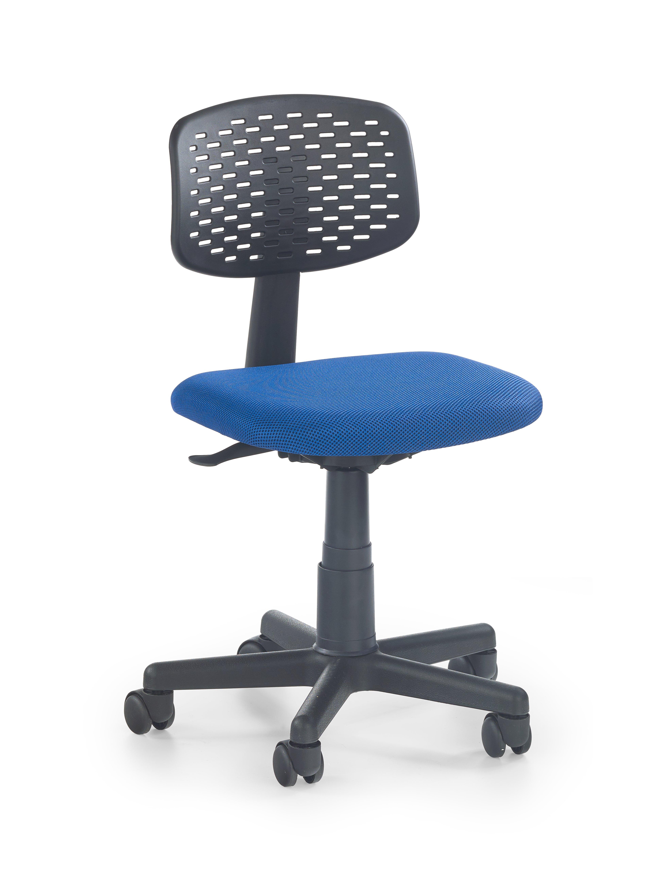 LOCO 2 detská stolička čierno-modrá