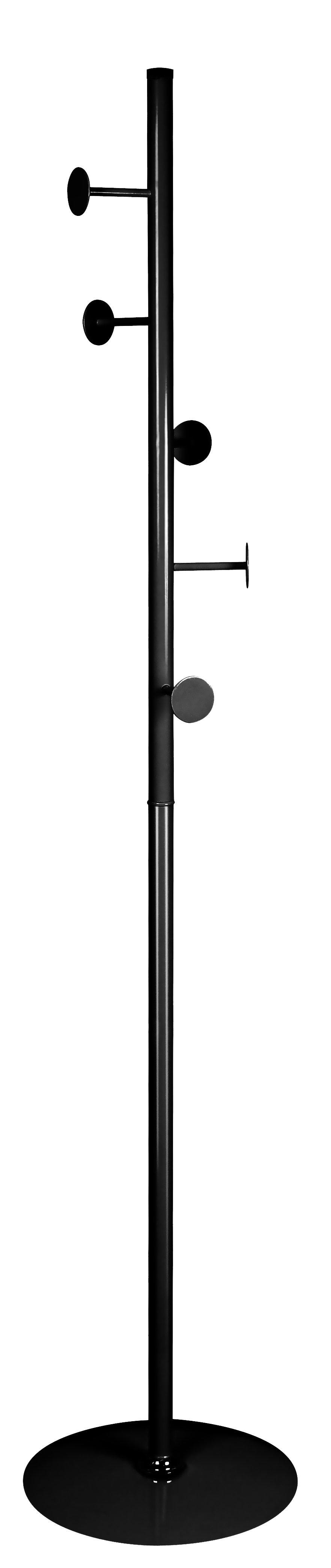 W52 vešiak čierny