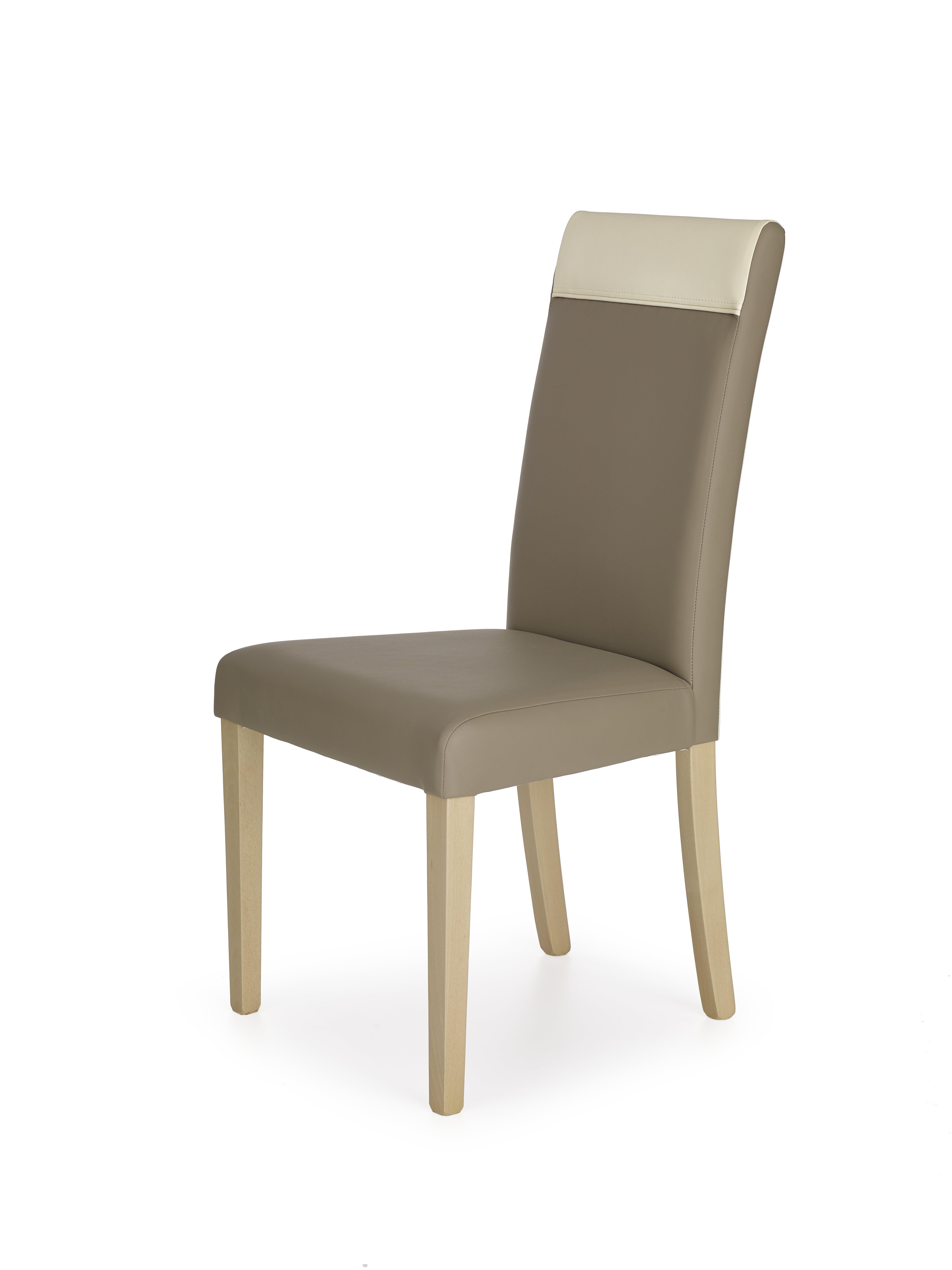 NORBERT stolička dub sonoma / tap. béžová