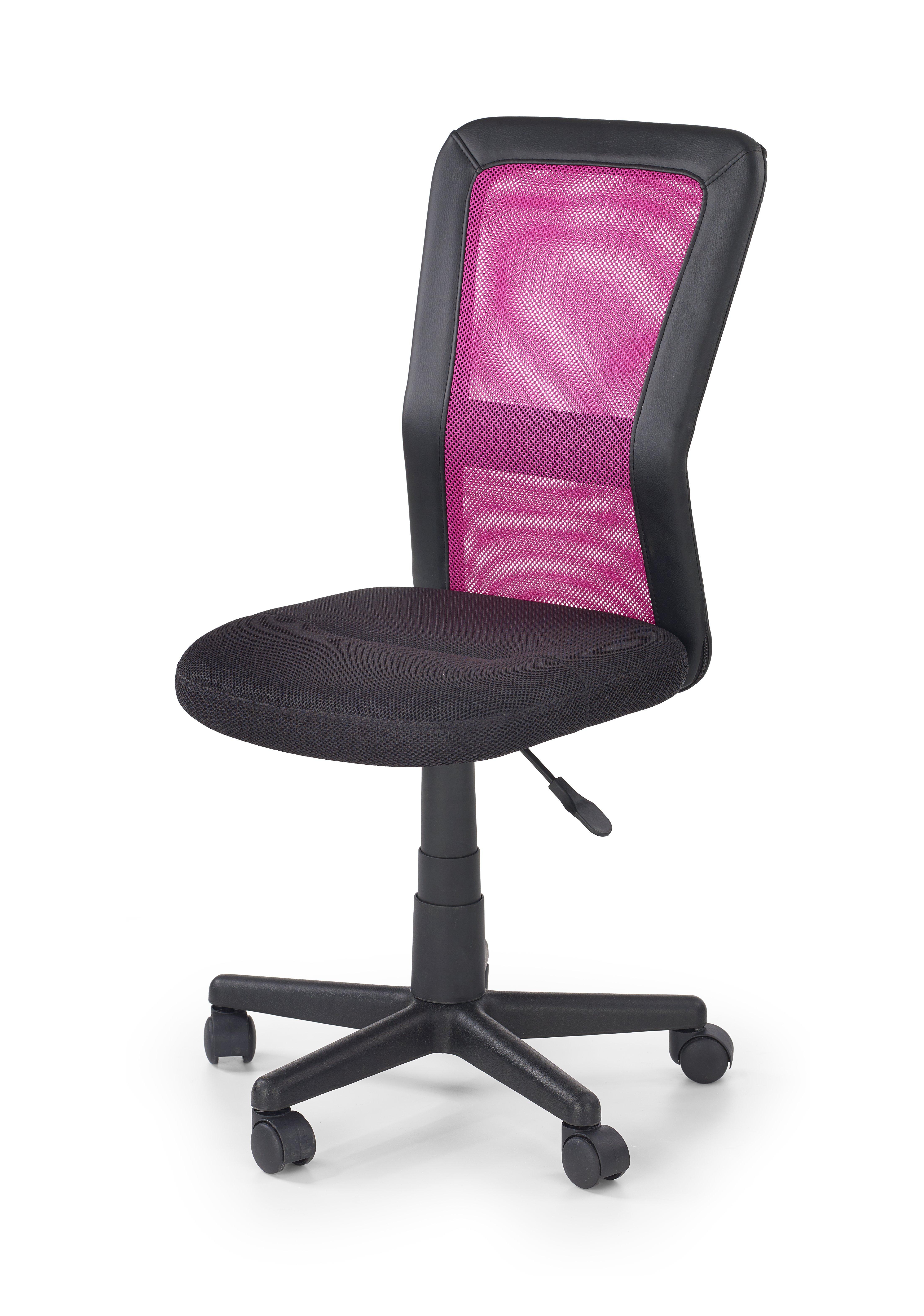 COSMO detská stolička čierno-ružová