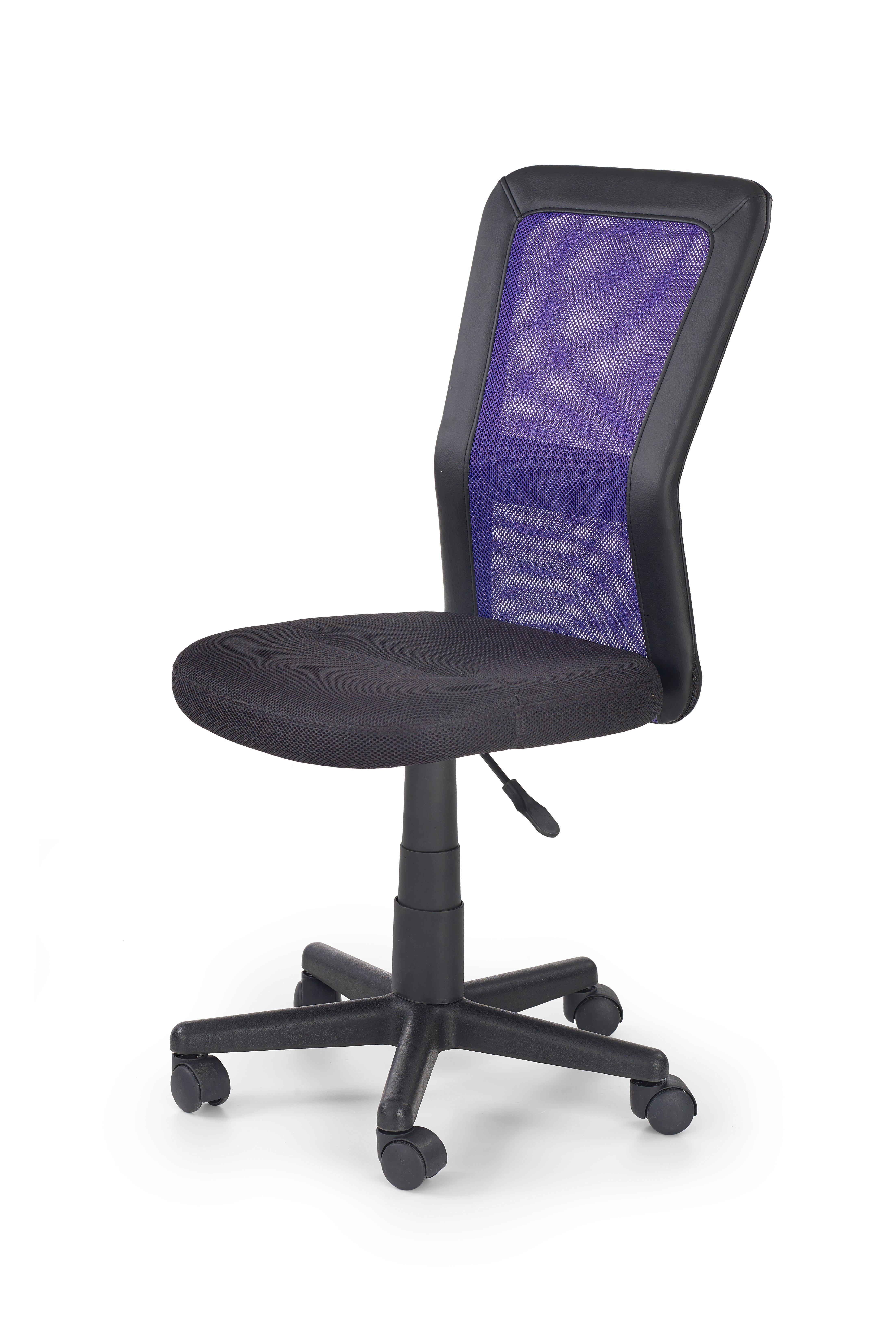 COSMO detská stolička čierno-fialová