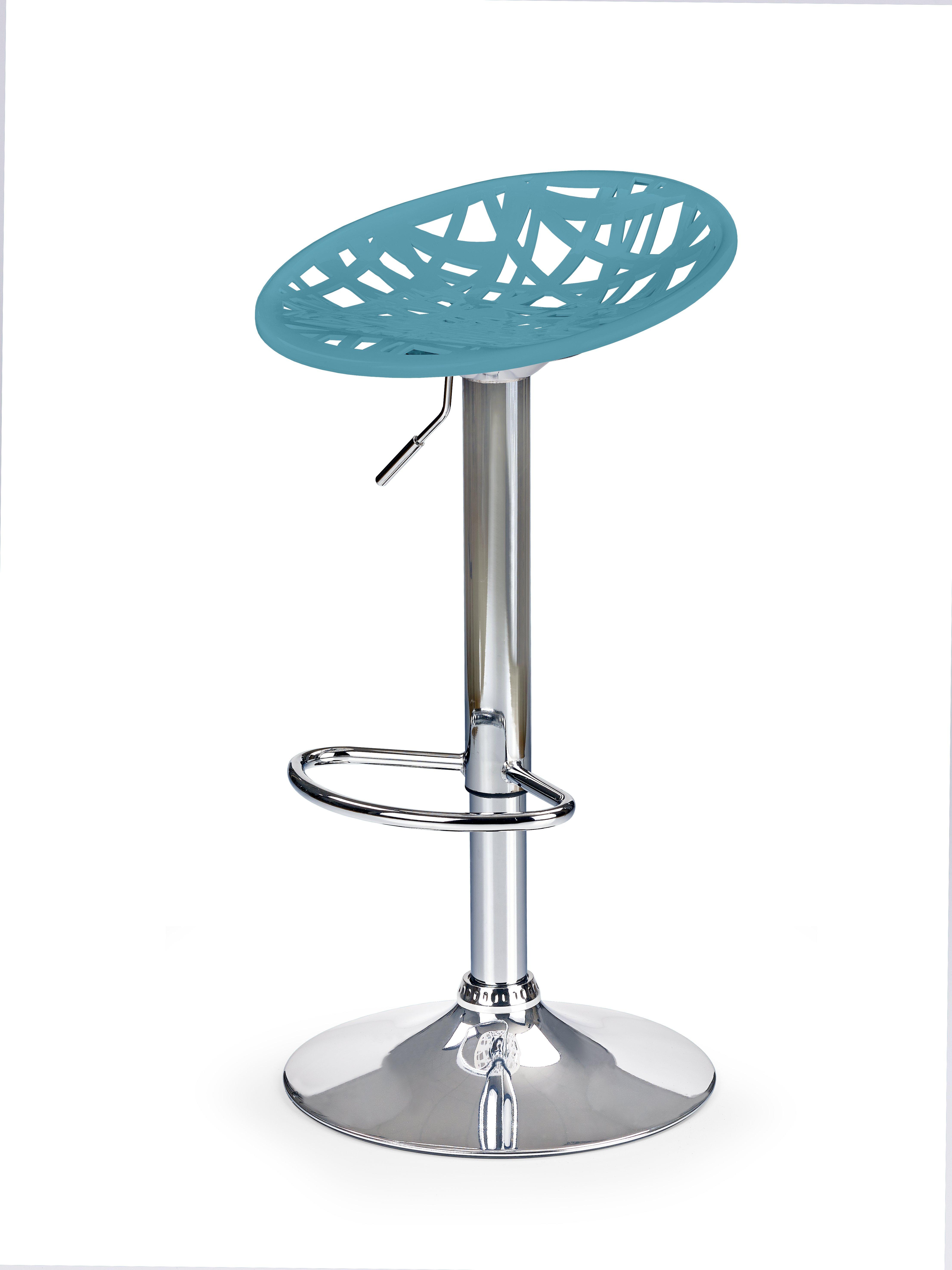 H56 barová stolička tyrkysová