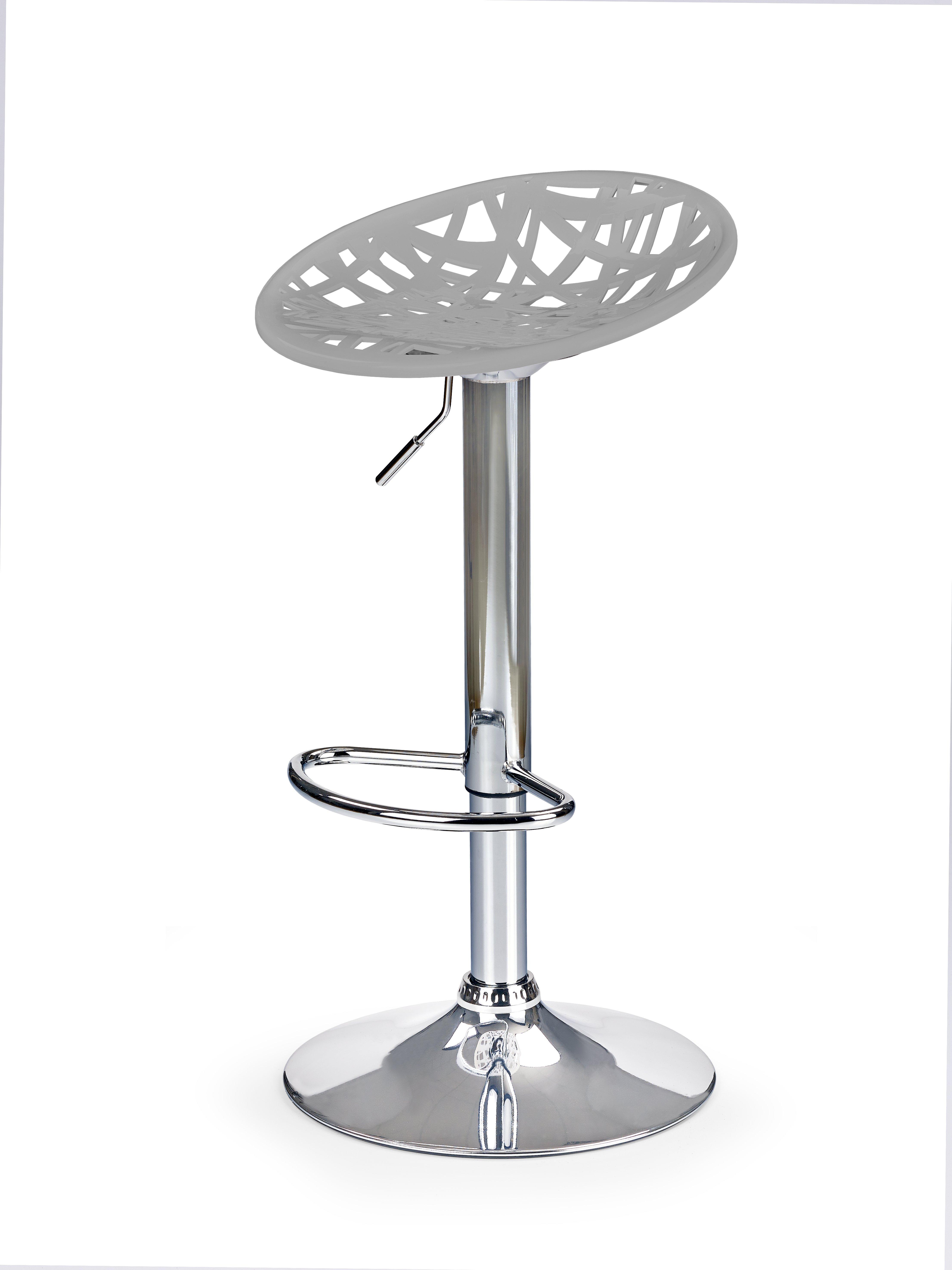 H56 barová stolička šedá