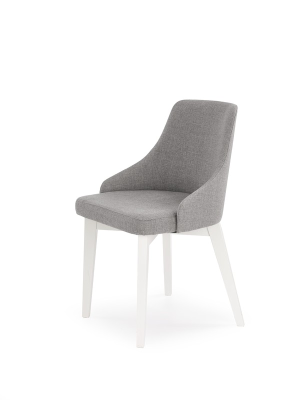 TOLEDO stolička biela / tap. Inari 91