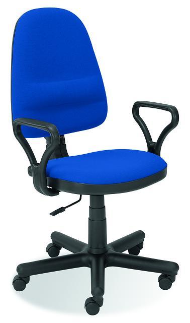 BRAVO kancelárska stolička C-6  modrá