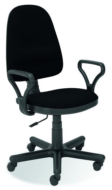 BRAVO kancelárska stolička C-11  čierna