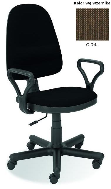 BRAVO kancelárska stolička C-24  hnedá