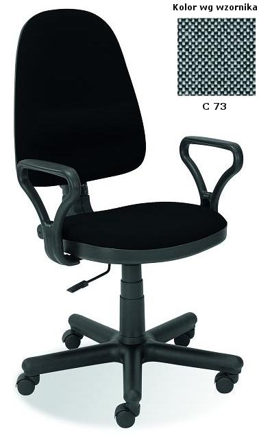 BRAVO kancelárska stolička C-73  šedá