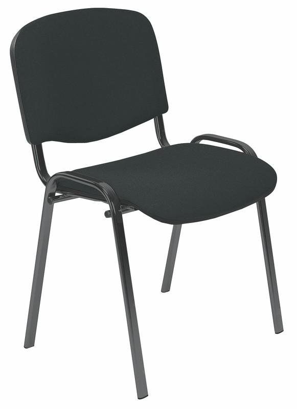 ISO stolička C11  čierna