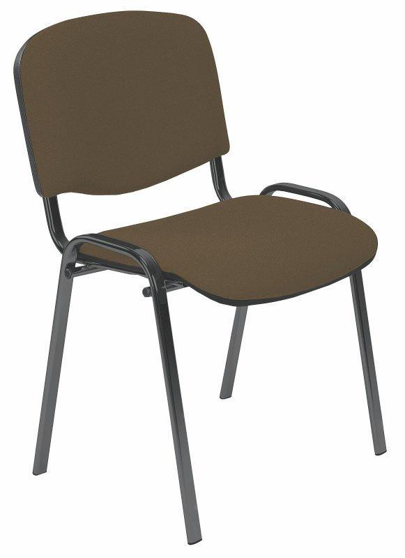 ISO stolička C24  hnedá